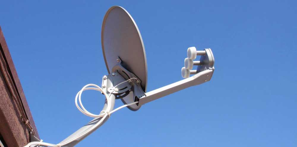 Antenne TV satellitari a Roma